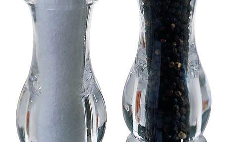 Maxwell & Williams Sada mlýnků na sůl a pepř acryl 20 cm