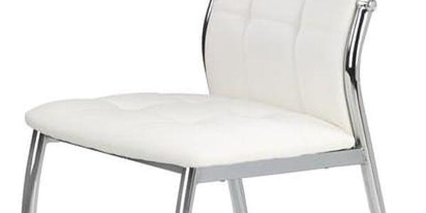 Jídelní židle K209 bílá4