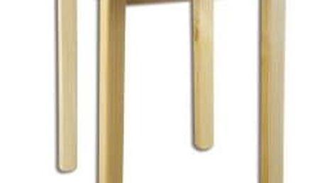 Jídelní stůl ST105 průměr 80 masiv borovice