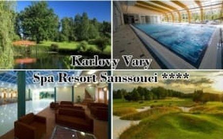 Nechte se ubytovat v nejlepším lázeňském hotelu v ČR. Třídenní golfový balíček v Karlových Varech se 2 fee na 18 jamek - výběr z 5 různých golfových areálů v okolí. K tomu luxusní polopenze, 2x svačina do bagu, wellness centrum a další služby