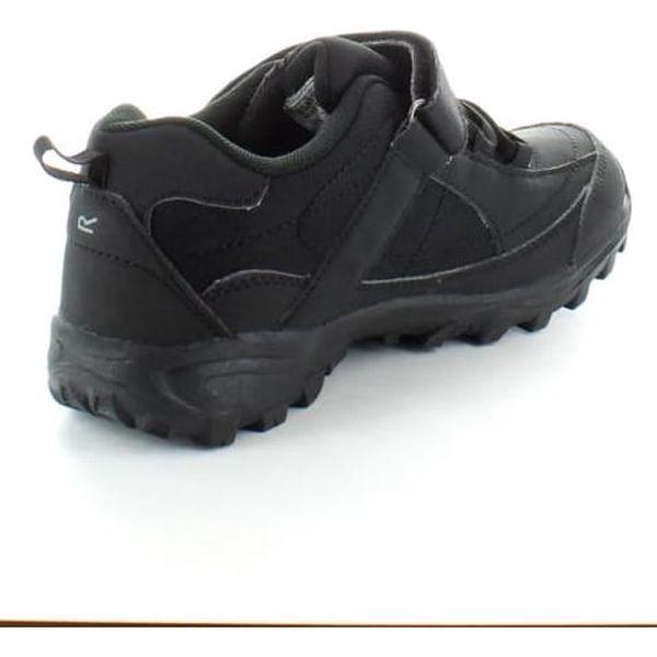 Chlapecká obuv Regatta RKF366 TRAILSPACE LOW Jr Black/Pigeon 303