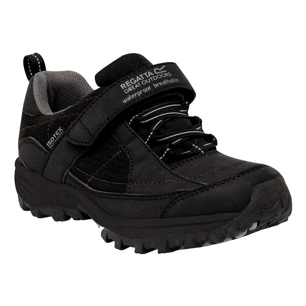 Chlapecká obuv Regatta RKF366 TRAILSPACE LOW Jr Black/Pigeon 305