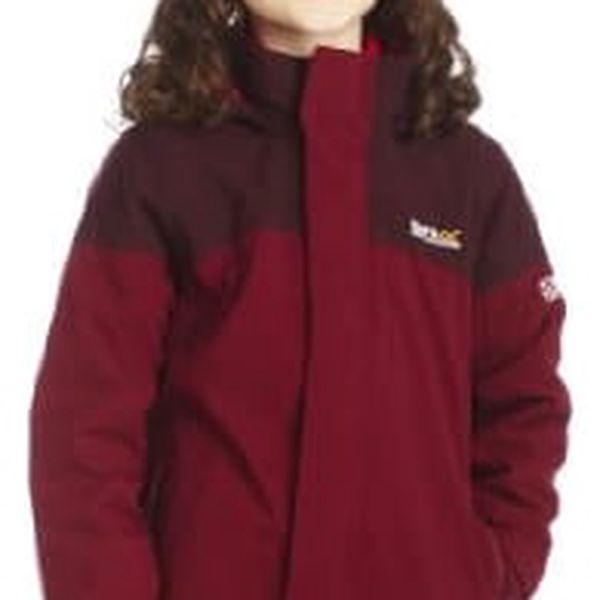 Dětská bunda 3v1 Regatta RKP103 STARGAMES DkPimen/DkBu 9-10y