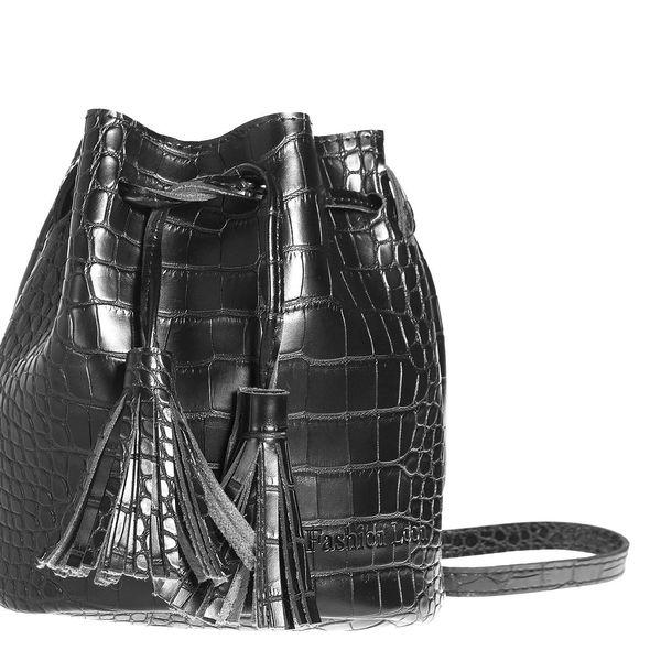 Fashion Icon Kabelka Crocodile Skin bucket bag motiv krokodýl