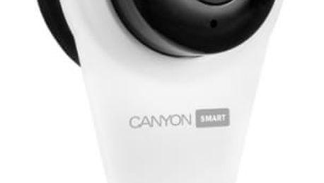 IP kamera Canyon Wi-Fi HD (CNSS-CB1W) bílý