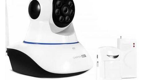 IP kamera Canyon HD IP s přídavnými senzory (CNSS-KA1W) bílý