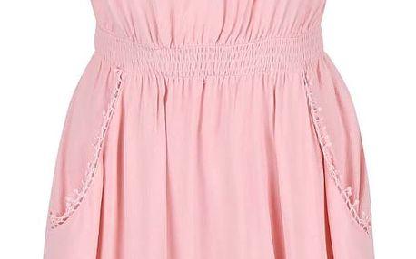Světle růžové šaty GINGER+SOUL