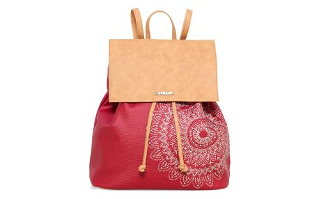 Desigual červený batoh Chakra Sintra