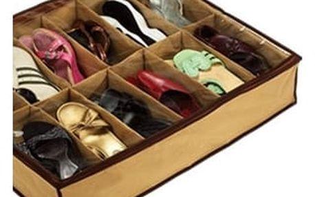 Organizér na 12 párů bot