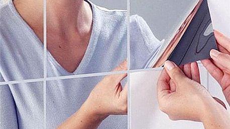 Akrylové zrcadlo složené z 9 čtverců - dodání do 2 dnů