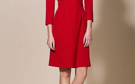 Červené šaty AL05