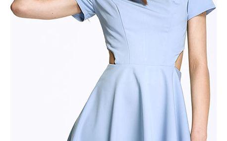Světle modré šaty AL26