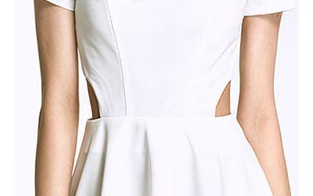 Smetanové šaty AL26