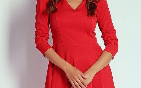 Červené šaty AT20