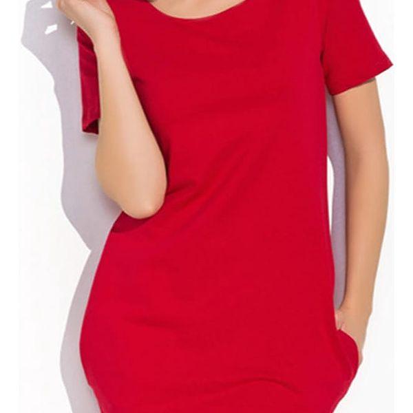 Červené šaty NU15