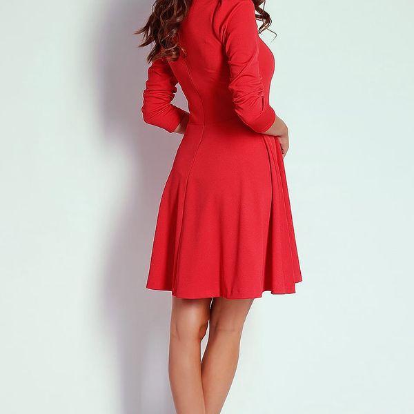 Červené šaty AT202