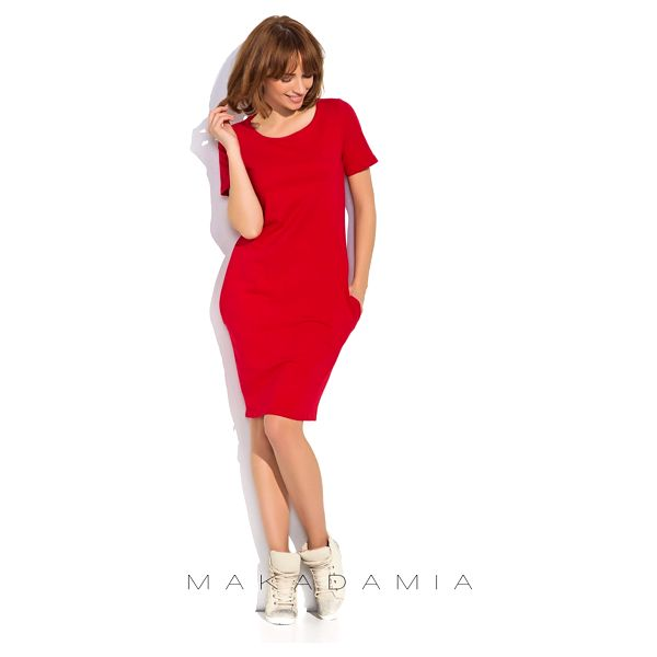Červené šaty NU152
