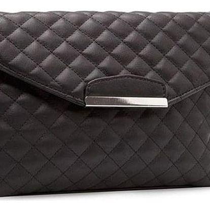 Dámská kabelka v elegantním provedení - černá - dodání do 2 dnů