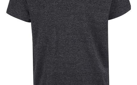 Tmavě šedé triko s krátkým rukávem Selected Homme Pine