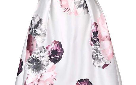 Krémové šaty s květinovým vzorem Dorothy Perkins