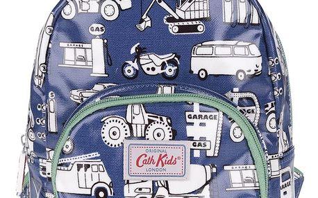 Modrý klučičí malý batoh s motivem aut Cath Kidston