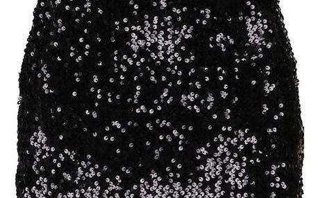 Černé večerní flitrované šaty Haily´s Glammy