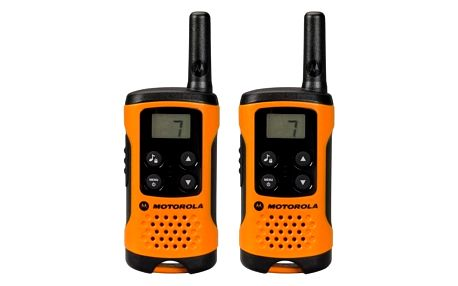 Motorola TLKR T41, oranžová