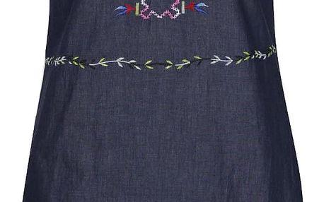 Tmavě modré šaty Desigual Medes