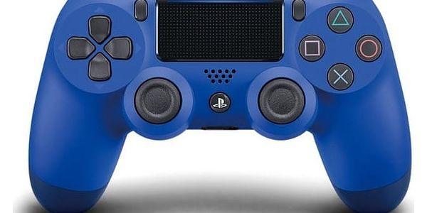 Gamepad Sony Dual Shock 4 pro PS4 v2 (PS719893950) modrý