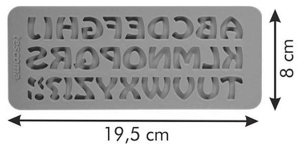 Tescoma Silikonové formičky DELÍCIA DECO, abeceda retro4