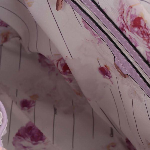 Světle fialová kabelka Gionni Olympia4
