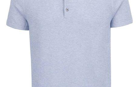 Modré polo triko Burton Menswear London