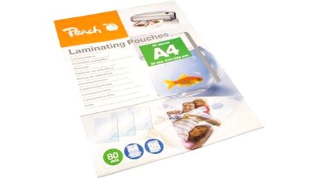 Laminovací fólie Peach A4 (216x303mm), 80mic, PPR080-02, 25pck/BAL (PPR080-02)