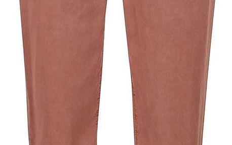 Cihlové kalhoty s páskem VERO MODA Zoe