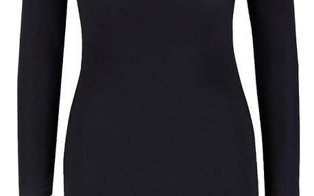 Černé šaty s dlouhým rukávem Miss Selfridge