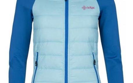 Dámská lehká strečová bunda KILPI BAFFIN-W světle modrá 40