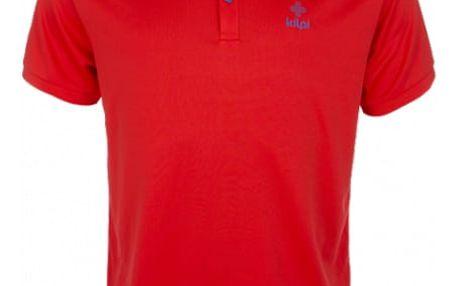Pánské technické polo tričko KILPI JOHAN červená xxl