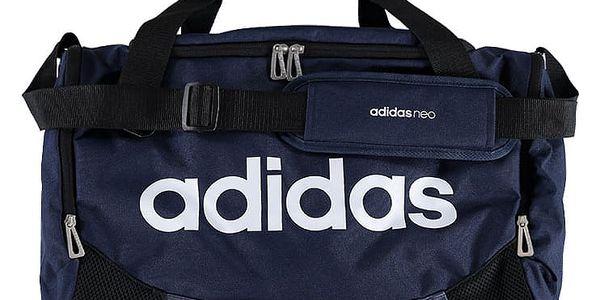 Tmavě modrá sportovní taška ADIDAS Daily Gym Bag