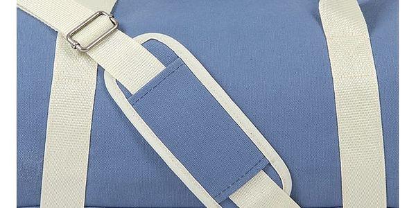 Světle modrá sportovní taška Mi-Pac Duffel Canvas4