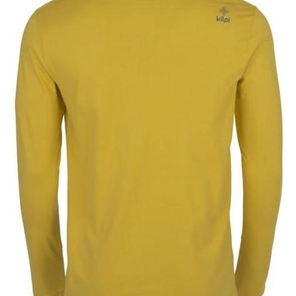Pánské tričko KILPI TESTED-M Khaki XXL2