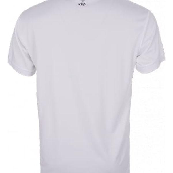 Pánské technické polo tričko KILPI JOHAN bílá s2