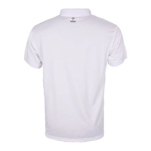 Pánské technické polo tričko KILPI JOHAN bílá l2
