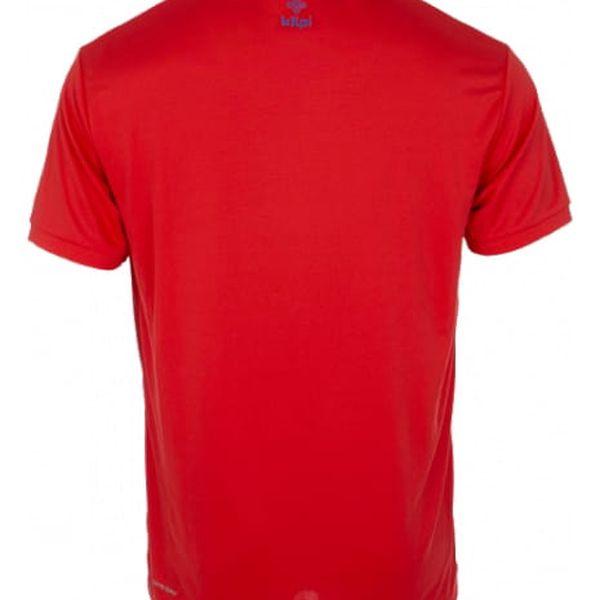 Pánské technické polo tričko KILPI JOHAN červená xxl2