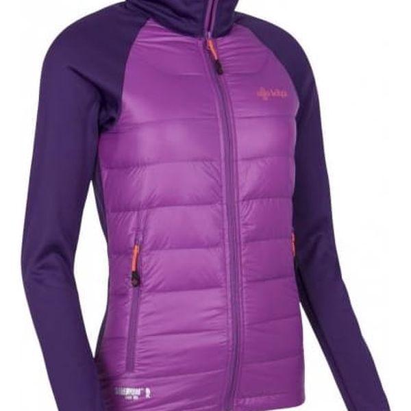 Dámská lehká strečová bunda KILPI BAFFIN-W fialová 362