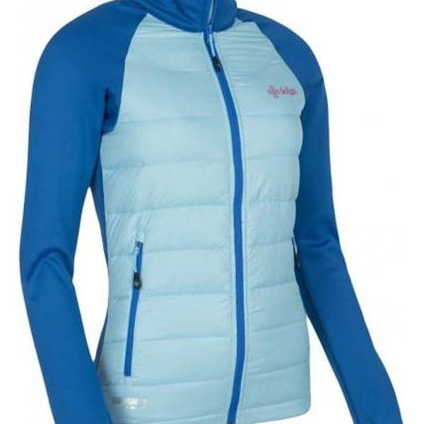 Dámská lehká strečová bunda KILPI BAFFIN-W světle modrá 403