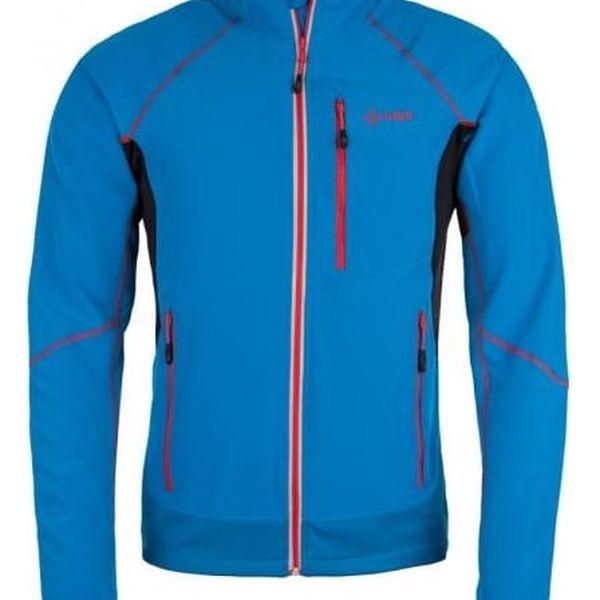 Pánská technická strečová bunda KILPI NORDIM-M modrá L