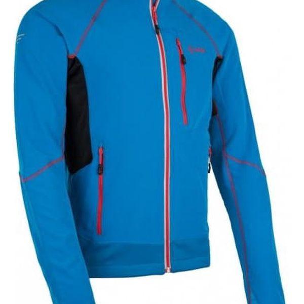 Pánská technická strečová bunda KILPI NORDIM-M modrá L3