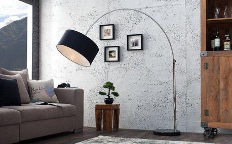 Stojací lampa Big Bow - Černá
