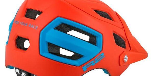 Unisex cyklistická helma R2 TRAIL ATH08F Oranžová L 58-61cm2