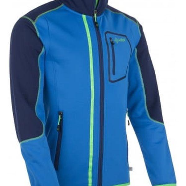 Pánská fleecová bunda KILPI BOGDAN modrá xl3